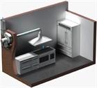 Монтаж кухонной вентиляции