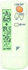 Пульт управления Daikin BRC7F530W (для FFA, беспроводной) - фото 9388