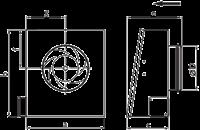 Настенный вентилятор Ostberg RS 125 A