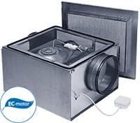 Вентилятор в звукоизолированном корпусе Ostberg IRB 125 В1 EС