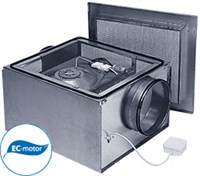 Вентилятор в звукоизолированном корпусе Ostberg IRB 355 E3 EС