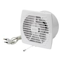 Накладной вентилятор Europlast E100 WP (провод и шнур-выключатель)