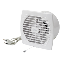 Накладной вентилятор Europlast E120 WP (провод и шнур-выключатель)