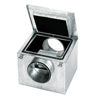 Энергоэффективный вентилятор в шумоизолированном корпусе Soler Palau CAB-250 ECOWATT